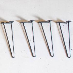 HomeMade Modern Iron Bench Legs (Set of 4)