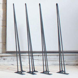HomeMade Modern Iron Table Legs (Set of 4)