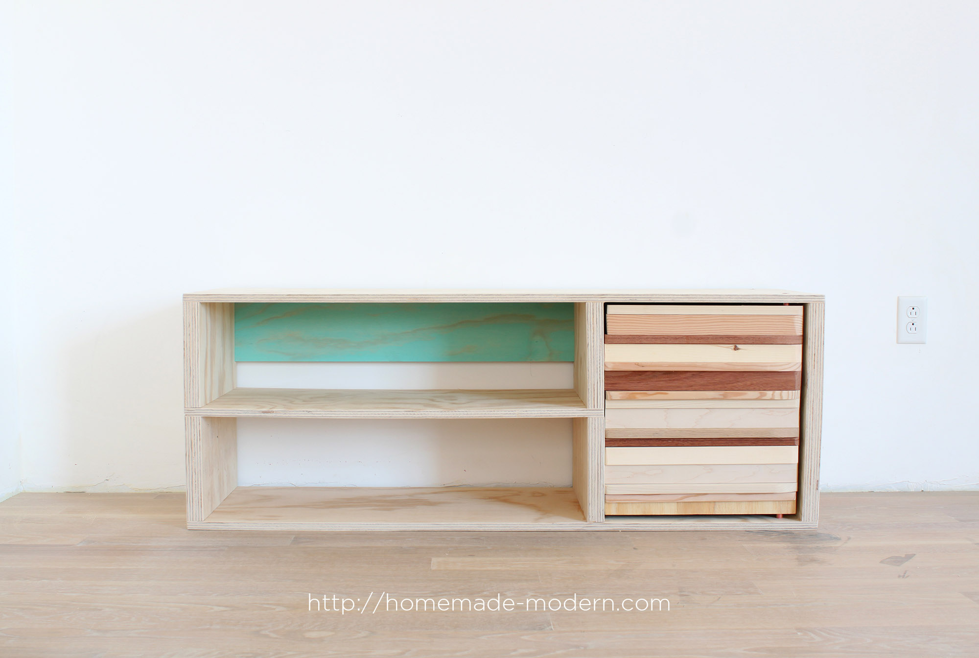 Superb This DIY Shoe Cabinet Is Made From Wood Scraps And A Painted Back Panel.  Full Part 29