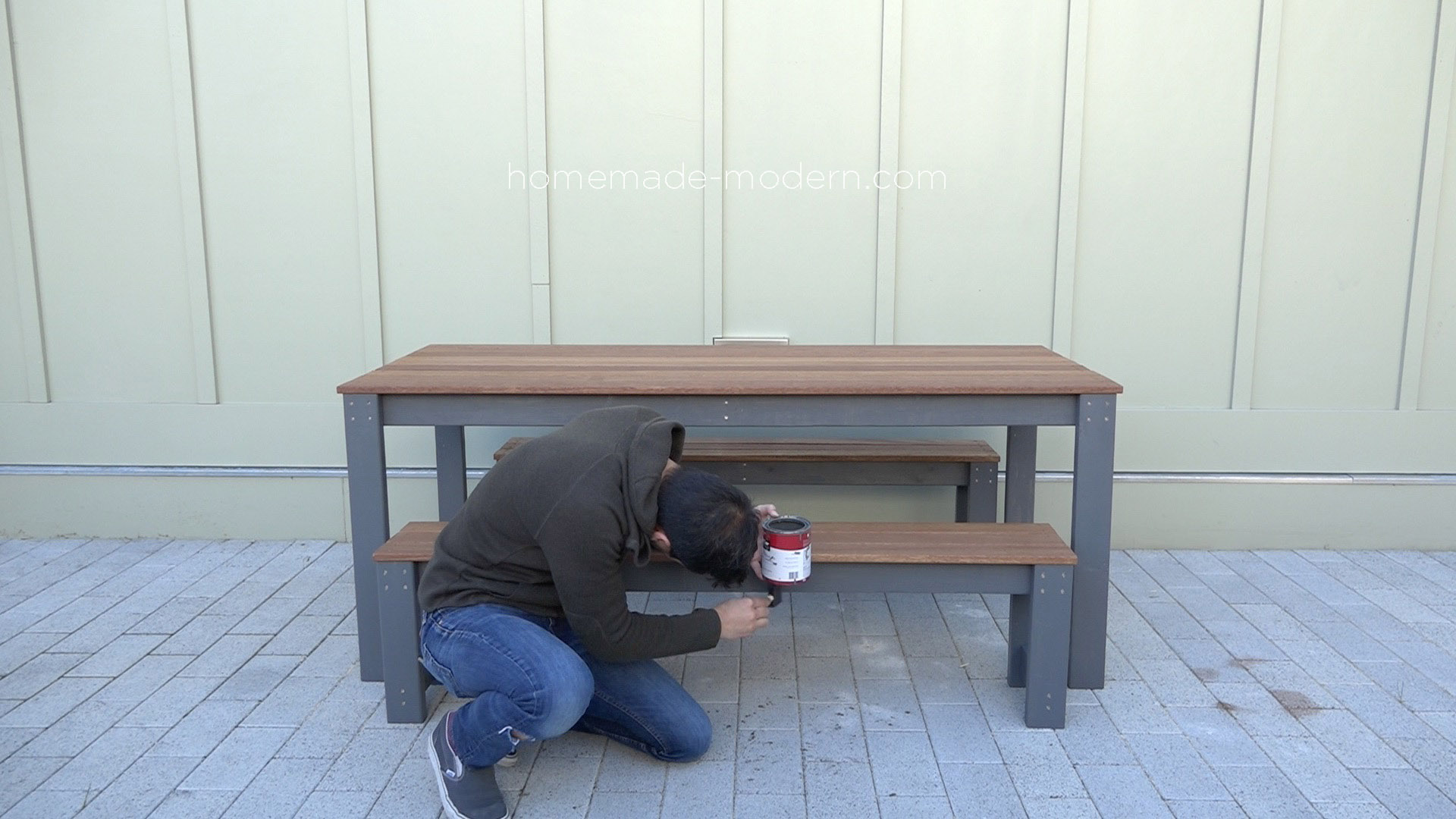 . HomeMade Modern EP101 DIY Outdoor Dining Table