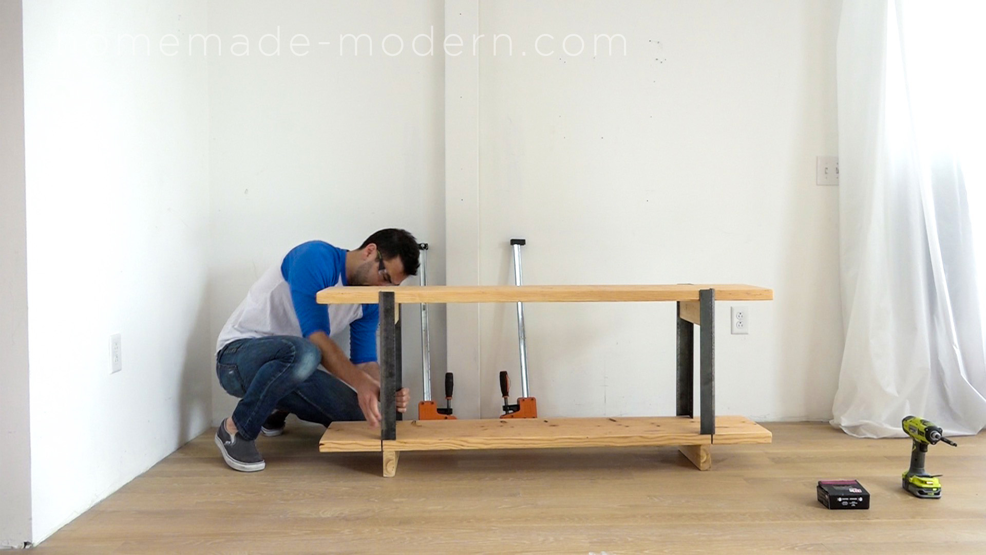 Homemade Modern Ep106 Diy Media Console