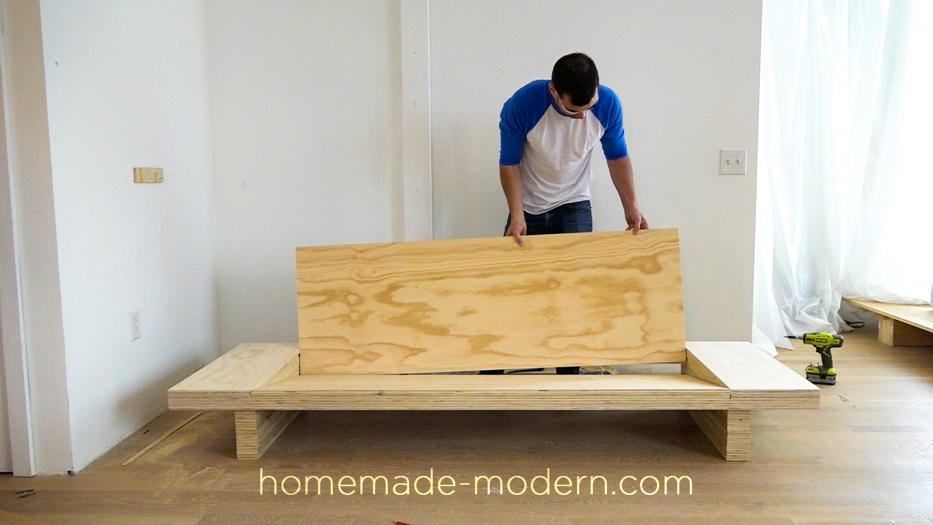 modern plywood furniture. This DIY Modern Plywood Sofa Is Made Out Of 2-1/2\u201d Sheets Furniture N