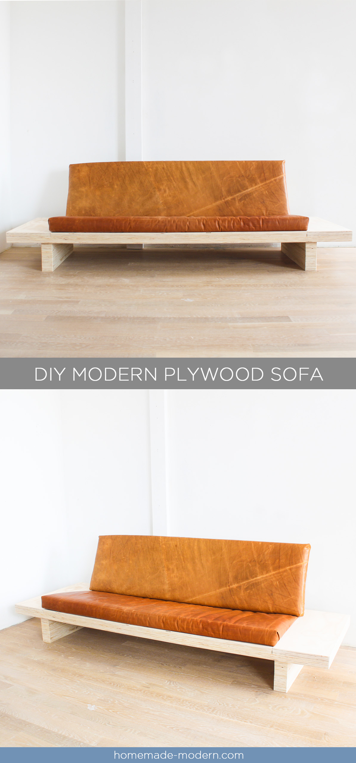 This DIY Modern Plywood Sofa Is Made Out Of 2 1/2u201d Sheets