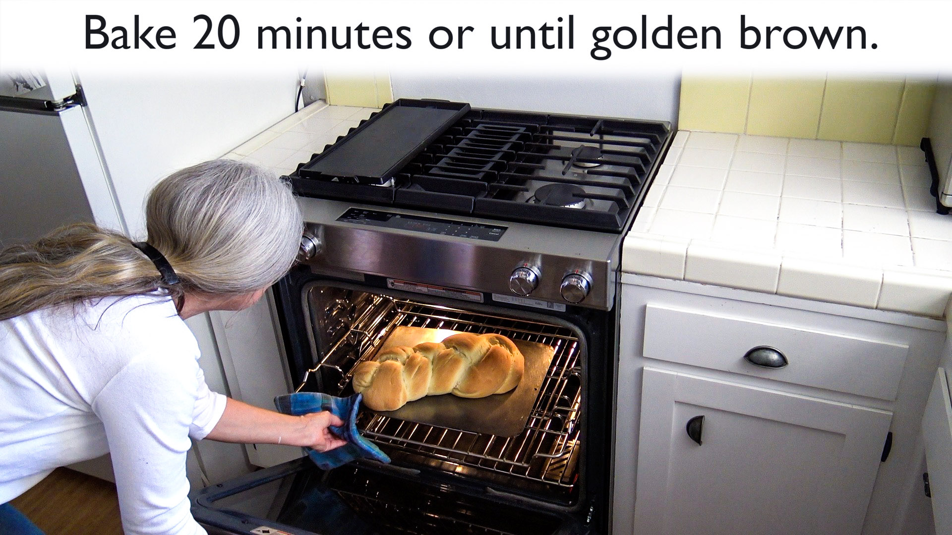 Ben upgrades his mother's oven and shares her bread recipe. Full instructions at HomeMade-Modern.com