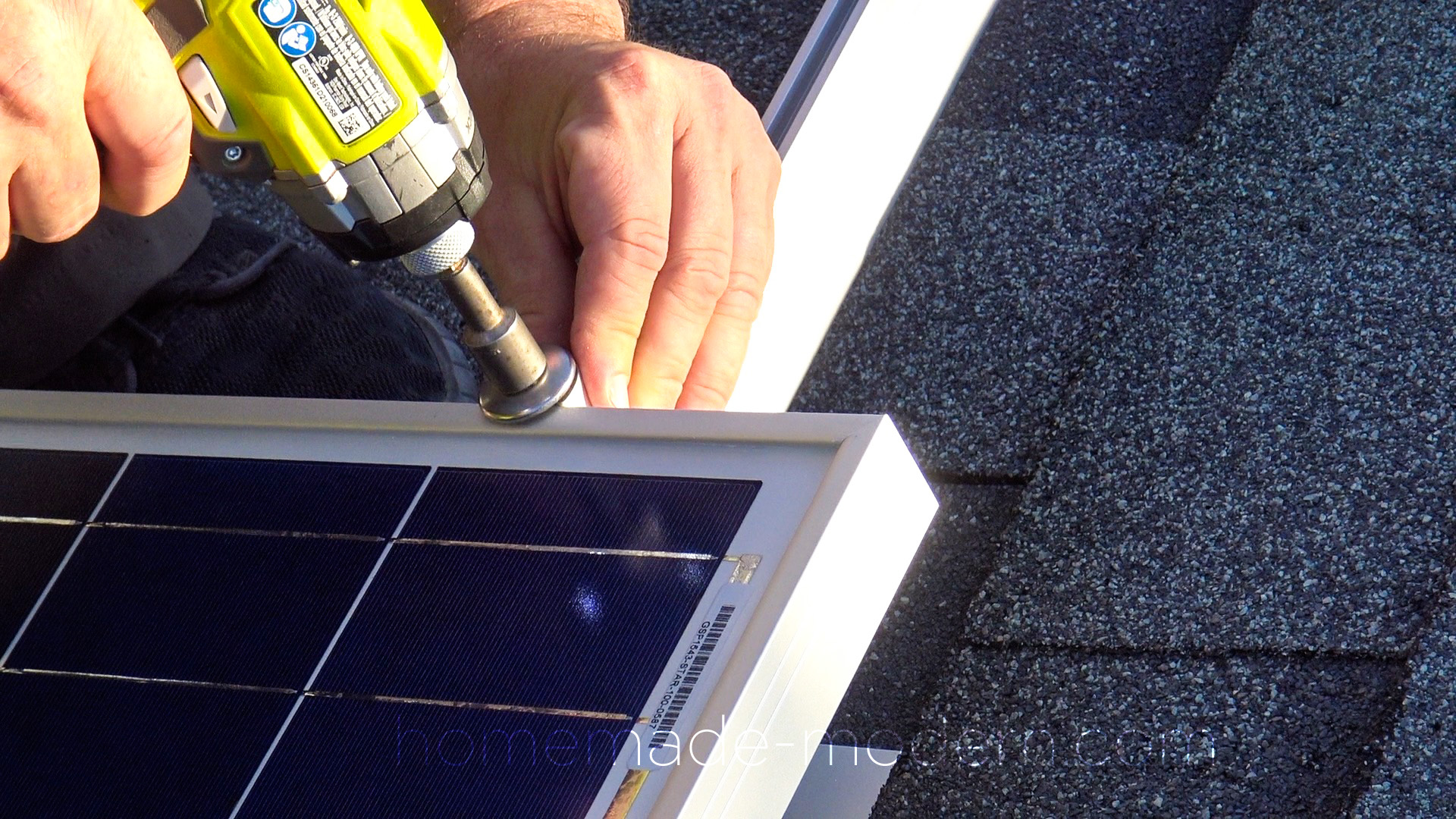 This Off The Grid Solar Ed Work Was Made By Retroing A Prefabricated Shed