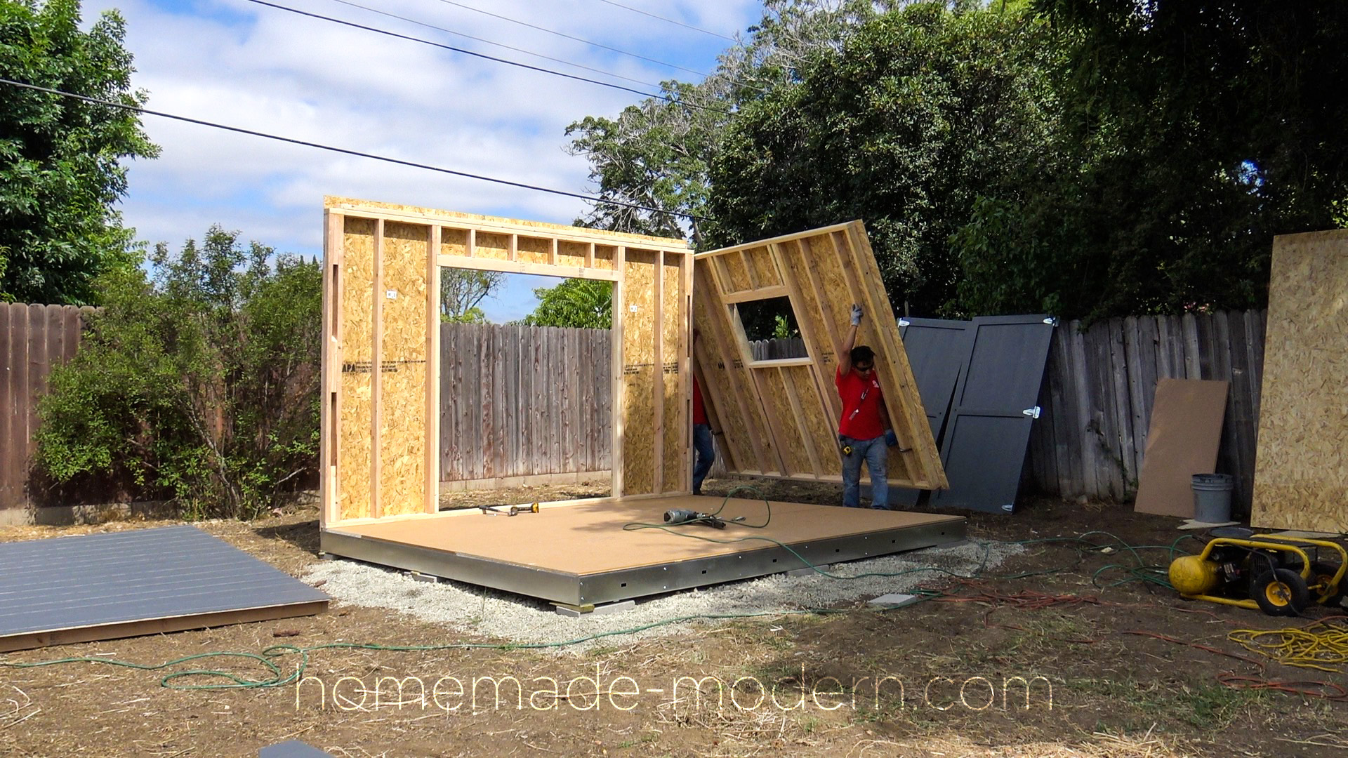 Homemade Modern Ep115 Building A Solar Powered Workshop