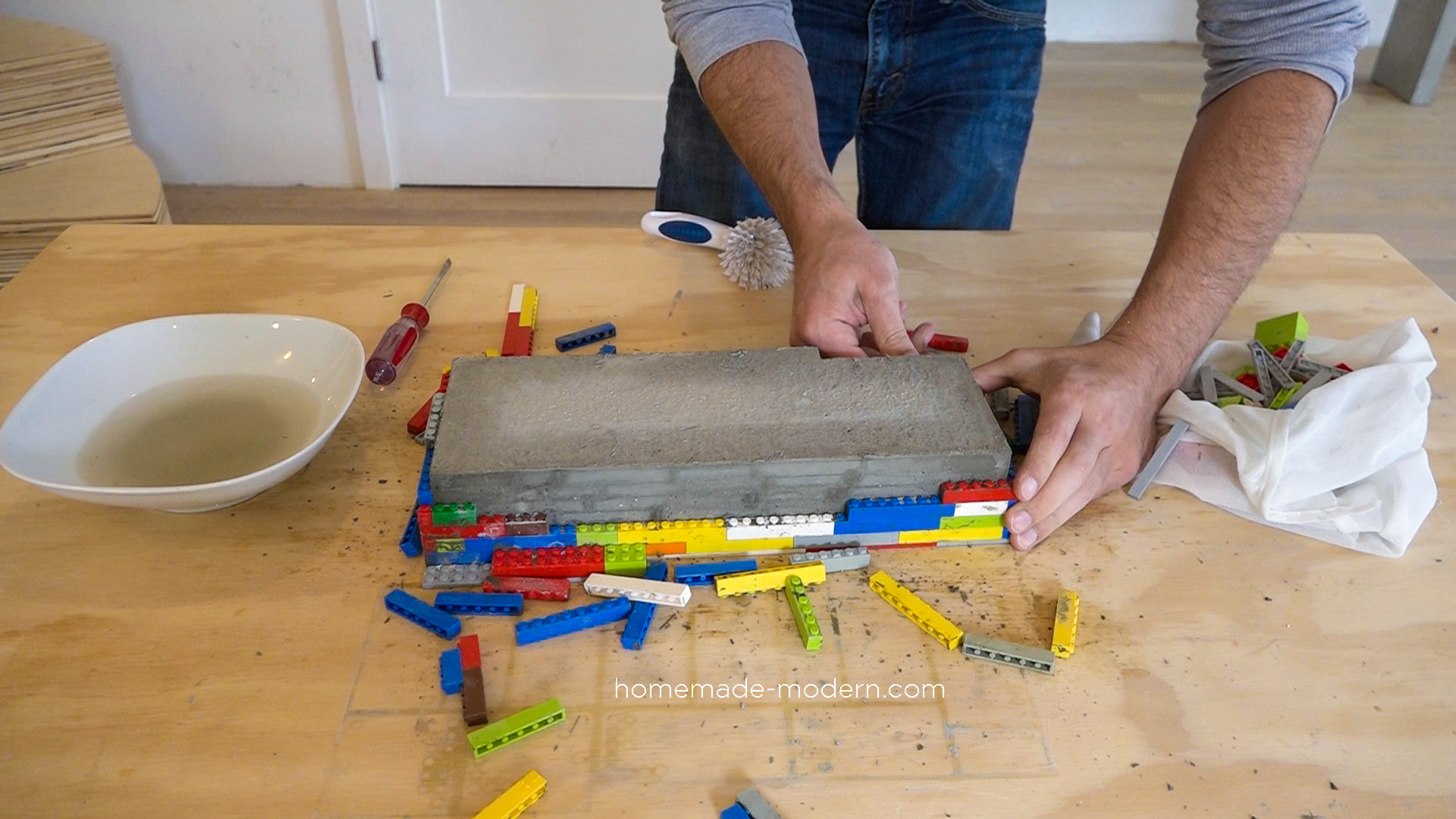 - HomeMade Modern EP120 DIY Concrete Backsplash