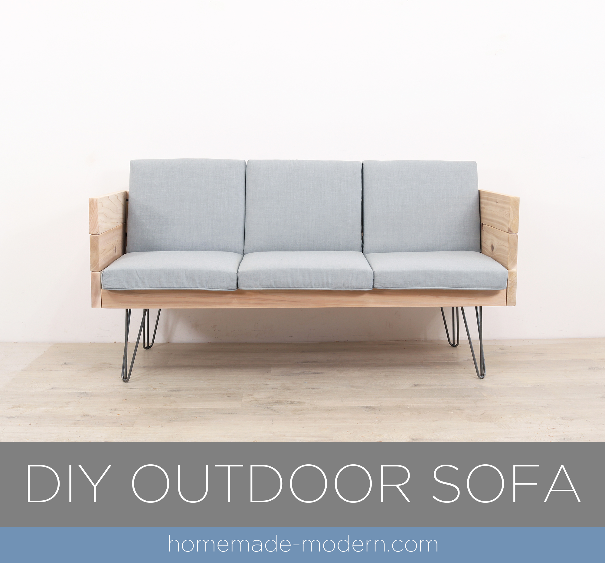 Merveilleux EP138 DIY Outdoor Sofa