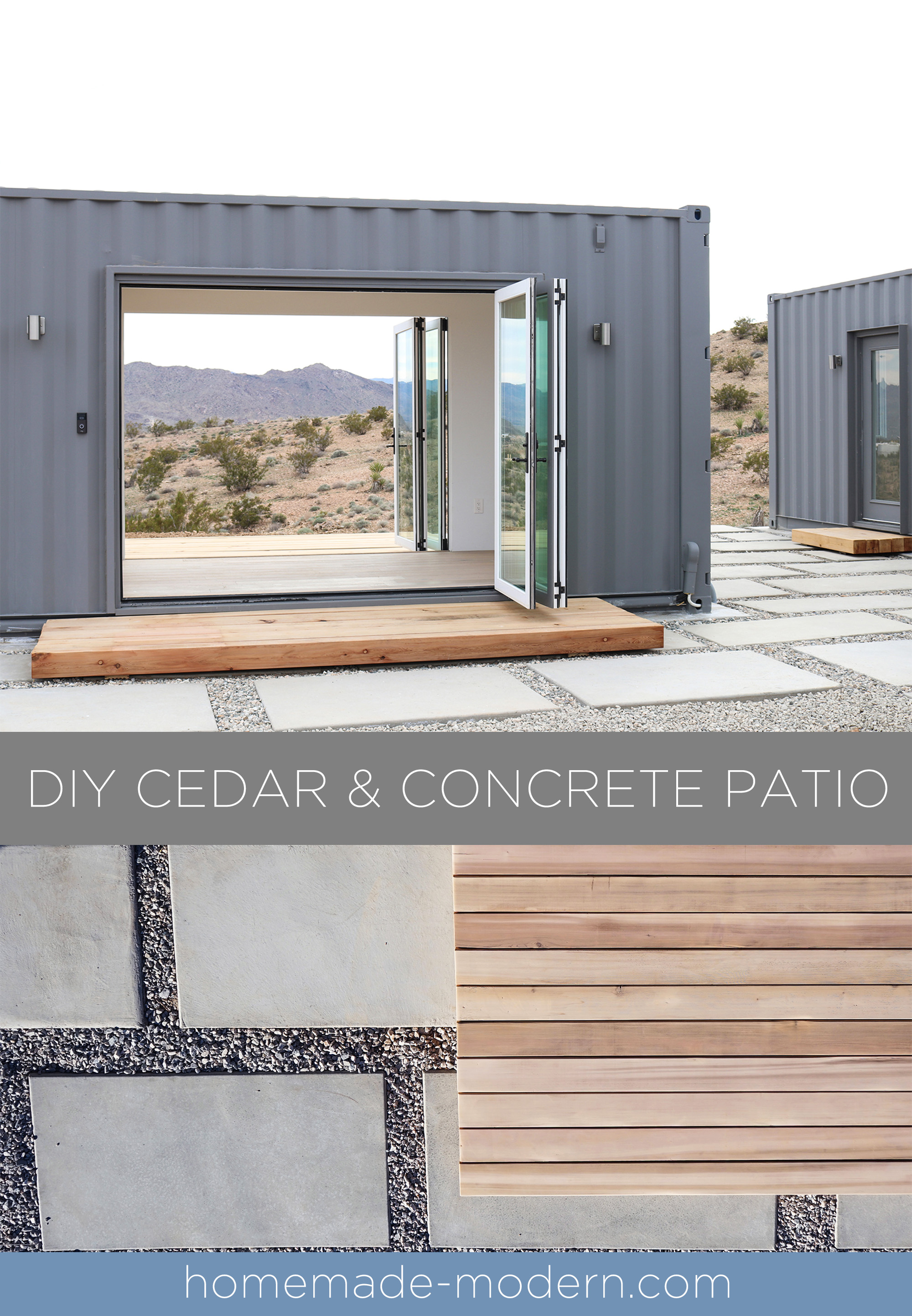 Homemade Modern How To Make Concrete Patio Pavers And A